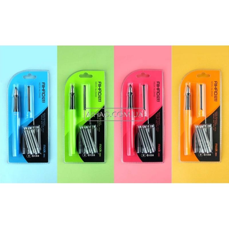 Ручка перьевая с набором капсул Ah20450