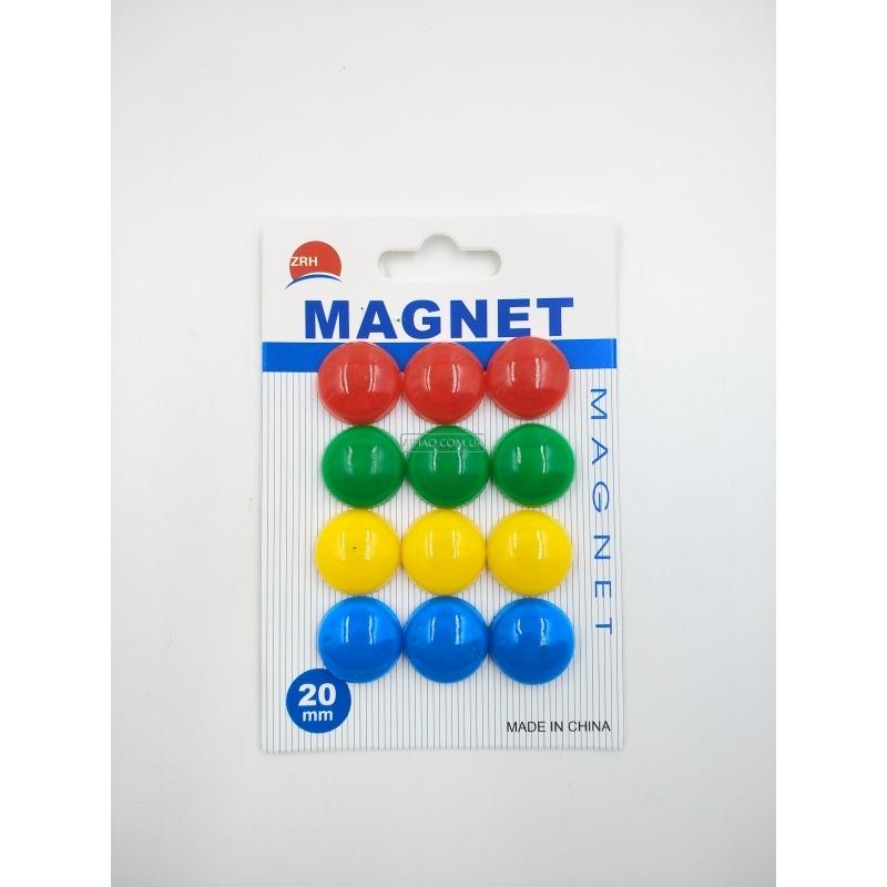 Набор цветных магнитов mag20-12