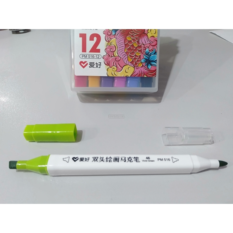 Набор двухсторонних Sketch Marker AH-PM516-12