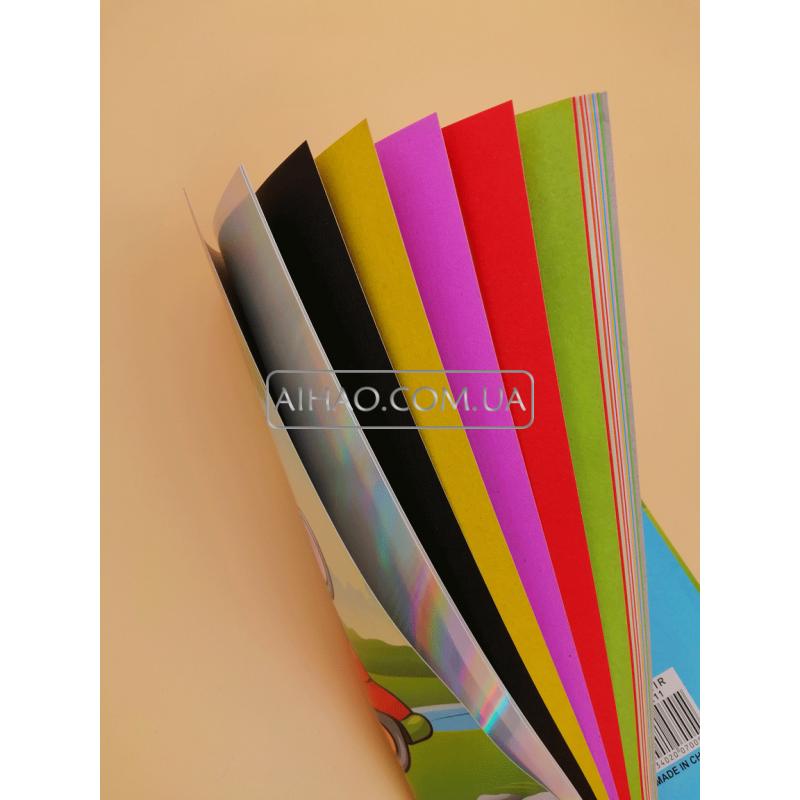 Цветной картон+бумага KZ-211