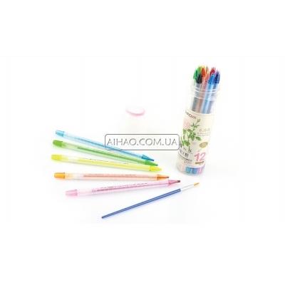 Набор цветных водорастворимых карандашей AH98801-12