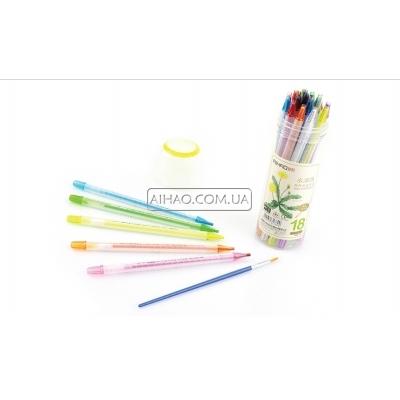 Набор цветных водорастворимых карандашей AH98801-18