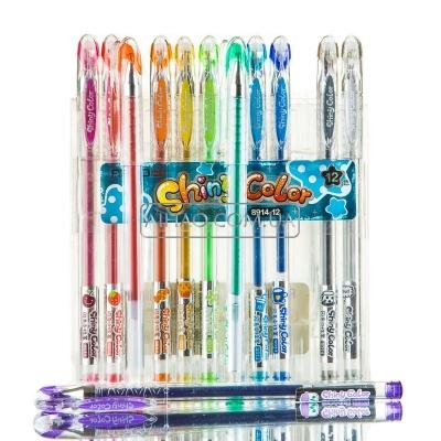 Набор цветных гелевых ручек AH8914-12