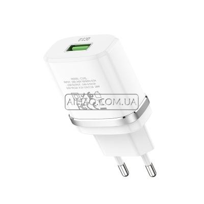 Сетевое зарядное устройство HOCO C12Q