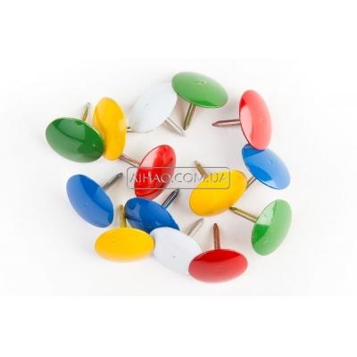 Набор канцелярских кнопок Pins-011