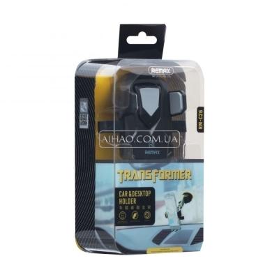 Автодержатель Remax RM-C26 Black Yellow