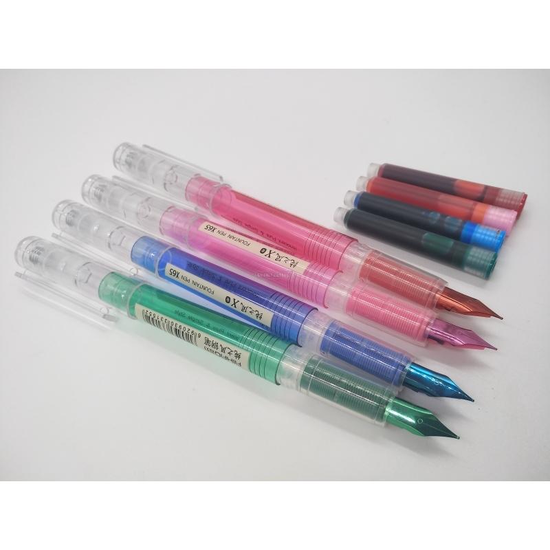 Набор цветных перьевых ручек Х-65