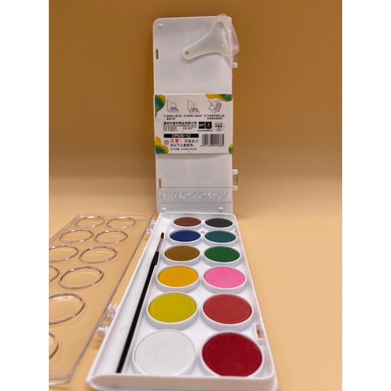 Набор акварельных красок AH-CP630-12
