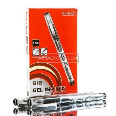 Гелевые ручки AH 818
